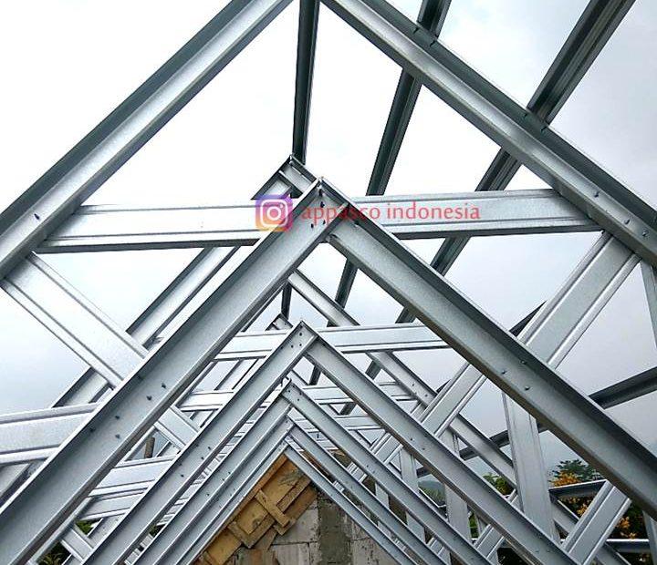 Rangka Atap Baja Ringan CNP di Sentul City