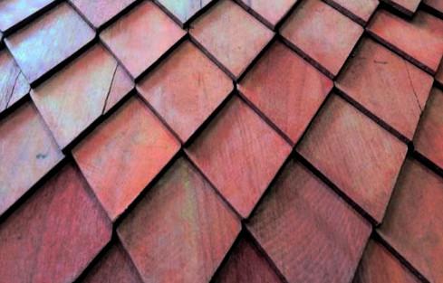 contoh atap sirap kayu