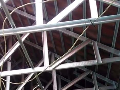 rangka atap baja ringan murah